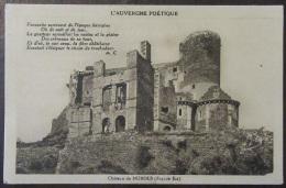 Château De Murols (Puy-De-Dôme) - Façade Est - Carte Postale Non-circulée - Frankrijk