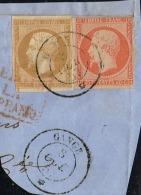C4- Oblit GANGE Maritime  Indice 25 Sur Fragt - Postmark Collection (Covers)