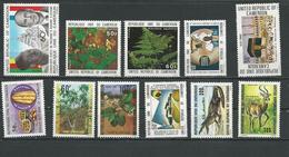 CAMEROUN  VOIR DÉTAIL  (11) ** Cote 18,00  $ 1979-80 - Cameroun (1960-...)