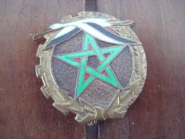 Insigne Armée De L'Air - Base Aérienne De Fez Au Maroc - Courtois. - Forze Aeree