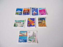 JAPAN JAPON MNH ** 1997-98  SCOTT Z230/Z238 FESTIVAL FLOWERS FLEURS BRIDGE MUSIC TRADITION CULTURE - 1989-... Empereur Akihito (Ere Heisei)