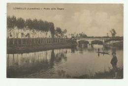LOMELLO - PONTE SULLA GOGNA 1915 VIAGGIATA FP - Pavia