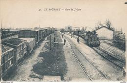 93) LE BOURGET : La Gare De Triage - Train - Le Bourget