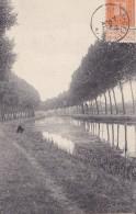 Pont-à-celles Le Canal Circulée En 1912 - Pont-à-Celles