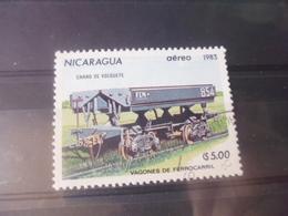 NICARAGUA TIMBRE POSTE  AERIENNE  YVERT N° 1023 - Nicaragua
