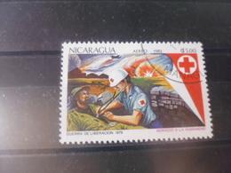 NICARAGUA TIMBRE POSTE  AERIENNE  YVERT N° 1026 - Nicaragua