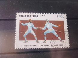 NICARAGUA TIMBRE POSTE  AERIENNE  YVERT N° 1027 - Nicaragua