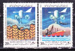 Iran 1989-Meteo Usati - Iran