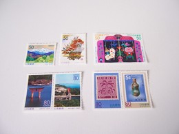 JAPAN JAPON MNH ** 1998  SCOTT Z247/Z254 FESTIVAL CHILDREN PUPPET CERAMIC MOUNTAINS STAMPS PHILATELY - 1989-... Empereur Akihito (Ere Heisei)
