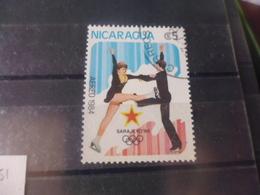 NICARAGUA TIMBRE POSTE  AERIENNE  YVERT N° 1051 - Nicaragua