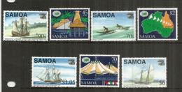 Exposition Internationale En Australie,   7 Timbres Neufs **  Côte 18,00 Euro - Samoa