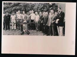 FOTO 18 X 13CM MERENDREE KAMPIOENSCHAP BELGIE STAANDE WIP 18/9/1973 - Tir à L'Arc