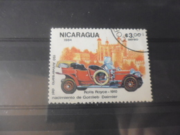 NICARAGUA TIMBRE POSTE  AERIENNE  YVERT N° 1065 - Nicaragua