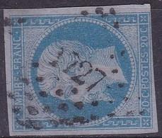 France, Nord - Pc 1727 De Lille Sur Yvert N° 14ac - Marcophilie (Timbres Détachés)
