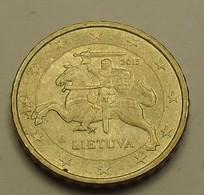 2015 - Lituanie - Lithuania - 10 CENT EURO - KM 208 - Lituania