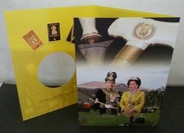 Malaysia Installation Of KDYMM Sultan Sallehuddin Kedah 2018 Royal King (folder) *limited - Malaysia (1964-...)