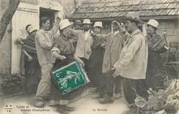 CPA 19 La Corrèze Illustrée Types Et Scènes Champêtres La Bourrée E F I U Collection EYBOULET Frères Folklore Danse - France