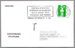Festival Europeen ORGUES DE BARBARIE - ORGANILLO - STREET ORGAN. Vouneuil Sur Vienne 1993 - Música