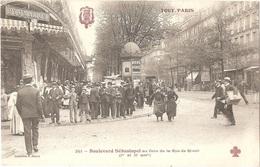 Dépt 75 - PARIS (1er & 2è) - Boulevard Sébastopol Au Coin De La Rue De Rivoli - TOUT PARIS N° 251 - Collection F. Fleury - Distretto: 01