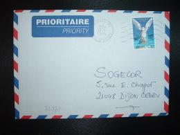 LETTRE TP CINQUANTENAIRE DE L'ONU 28F OBL.MEC.17-6 1996 ABIDJAN 01 - Ivory Coast (1960-...)