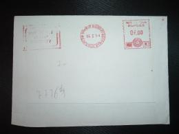 LETTRE EMA à 07.00 Di 06 I 94 BOMBAY EXPOSUN BYW 823 - Inde