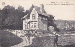 """COMBLAIN-AU-PONT """"Les Rochers Noires Et Châlet Braconier """" 1914      Voir Scans - Comblain-au-Pont"""