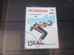 NICARAGUA TIMBRE POSTE  AERIENNE  YVERT N° 1201 A - Nicaragua