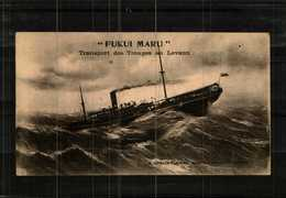 """CPA    Transport Des Troupes Au Levant  """" FUKUI MARU """" - Krieg"""