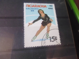 NICARAGUA TIMBRE POSTE  AERIENNE  YVERT N° 1201 B - Nicaragua