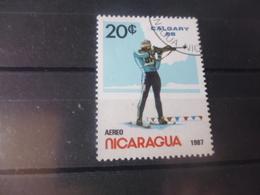 NICARAGUA TIMBRE POSTE  AERIENNE  YVERT N° 1201 C - Nicaragua