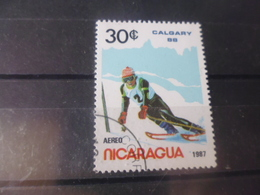 NICARAGUA TIMBRE POSTE  AERIENNE  YVERT N° 1201 D - Nicaragua
