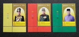 Malaysia Installation Of KDYMM Sultan Sallehuddin Kedah 2018 Royal King (stamp With Plate) MNH - Malaysia (1964-...)
