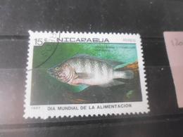 NICARAGUA TIMBRE POSTE  AERIENNE  YVERT N° 1206 - Nicaragua