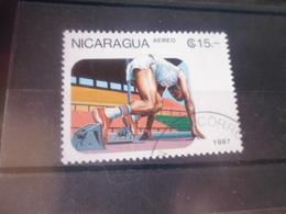 NICARAGUA TIMBRE POSTE  AERIENNE  YVERT N° 1215 - Nicaragua