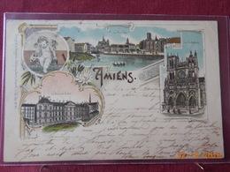 CPA - Amiens - Multi-vues (date D'oblitération : 1898) - Amiens