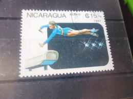 NICARAGUA TIMBRE POSTE  AERIENNE  YVERT N° 1216 - Nicaragua