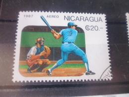 NICARAGUA TIMBRE POSTE  AERIENNE  YVERT N° 1217 - Nicaragua