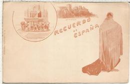 GRANADA TARJETA POSTAL FINALES DEL SIGLO XIX SIN USAR - Granada