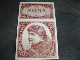 Etiquette Boite à Cigare Rosa Excellent état - Documents