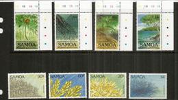 Protection De L'environnement Aux îles SAMOA.  8 Timbres Neufs **  Côte 20,00 Euro - Samoa
