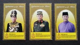 Malaysia Installation Of KDYMM Sultan Sallehuddin Kedah 2018 Royal King (stamp) MNH - Malaysia (1964-...)