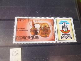 NICARAGUA TIMBRE POSTE  AERIENNE  YVERT N° 1256 - Nicaragua
