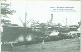 Congo. Boma. Arrivée Du Steamer Belge. Cliché Luyckx, Wavre. - Belgisch-Congo - Varia