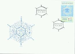 Slowakei '50. Int. Chemie-Olympiade' / Slovakia '50th International Chemistry Olympiad' FDC 2018 - Química