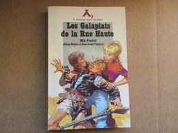Les Galapiats De La Rue Haute (Mik Fondal) éditions Alsatia De 1976 - Books, Magazines, Comics