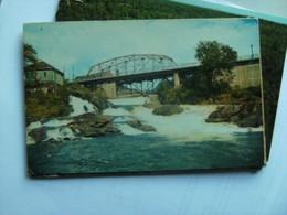 Canada Ontario Bracebridge Falls Muskoka River - Ontario