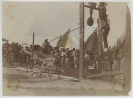 Fête Foraine . Jeu D'adresse Et De Force Sur Une Plage . Joute Comme à Sète . Marins . Citrate Circa 1900 . - Old (before 1900)