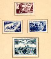 1947  France ,UPU, Entraide Française, PA 20 / 23*, Cote 48,50 €, - Poste Aérienne