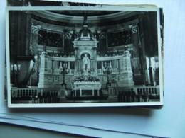 Hongarije Ungarn Magyar  Budapest Church Interior Photocard - Hongarije