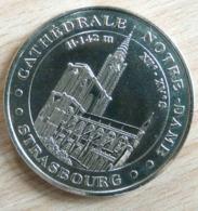 CATHEDRALE NOTRE DAME STRASBOURG 2003 MONNAIE DE PARIS COLLECTION NATIONALE MEDAILLE OFFICIELLE JETON TOURISTIQUE - Monnaie De Paris